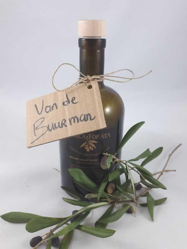 Finca forata ongefilterde olijfolie